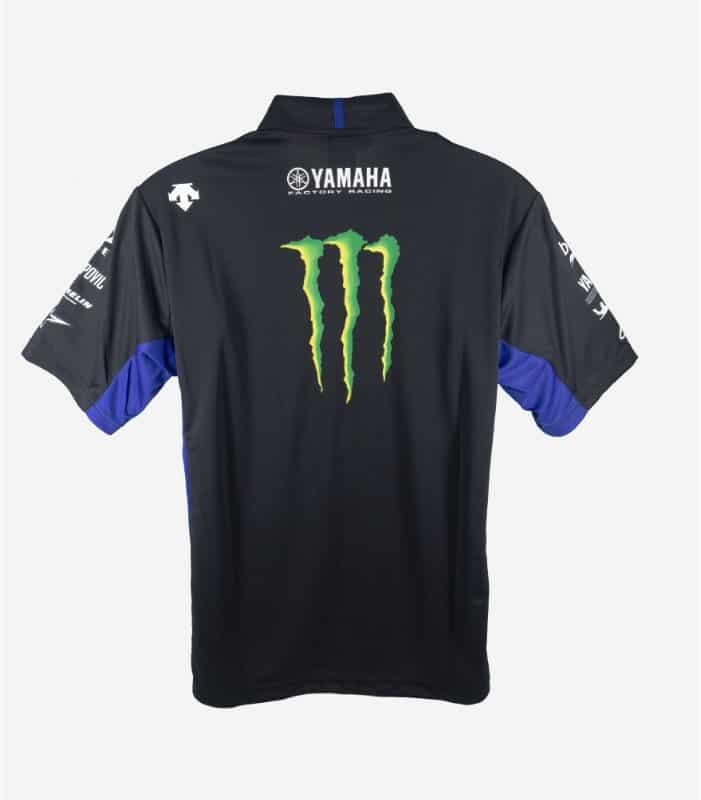 Yamaha Descente 2019 MotoGP Team Polo Tee