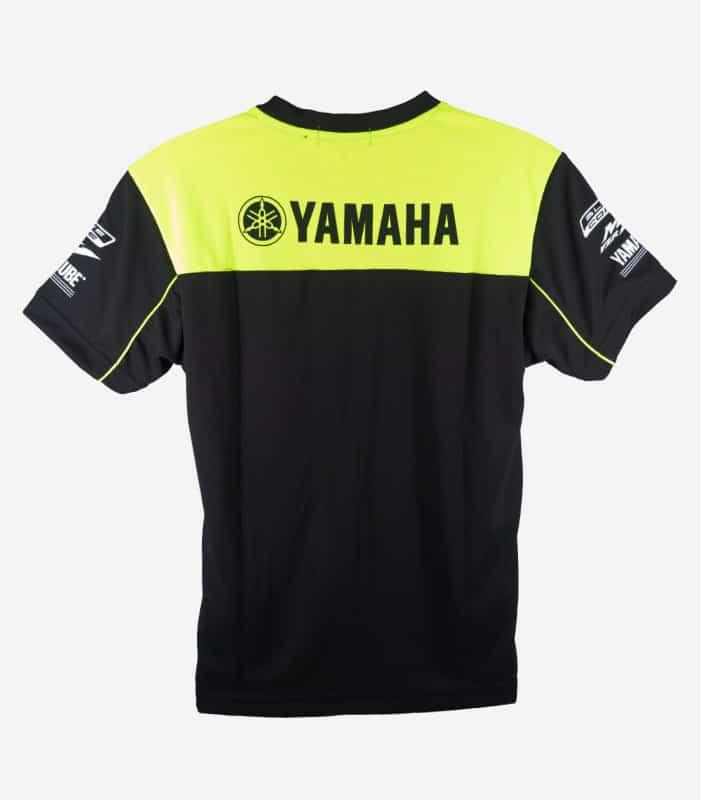 Yamaha Racing New Roundneck Black Green Tee