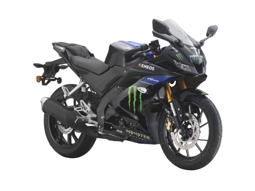 Yamaha R15 monster energy limited edition