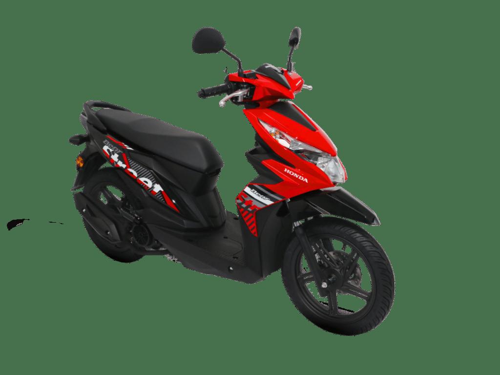 2020 Honda Beat Red