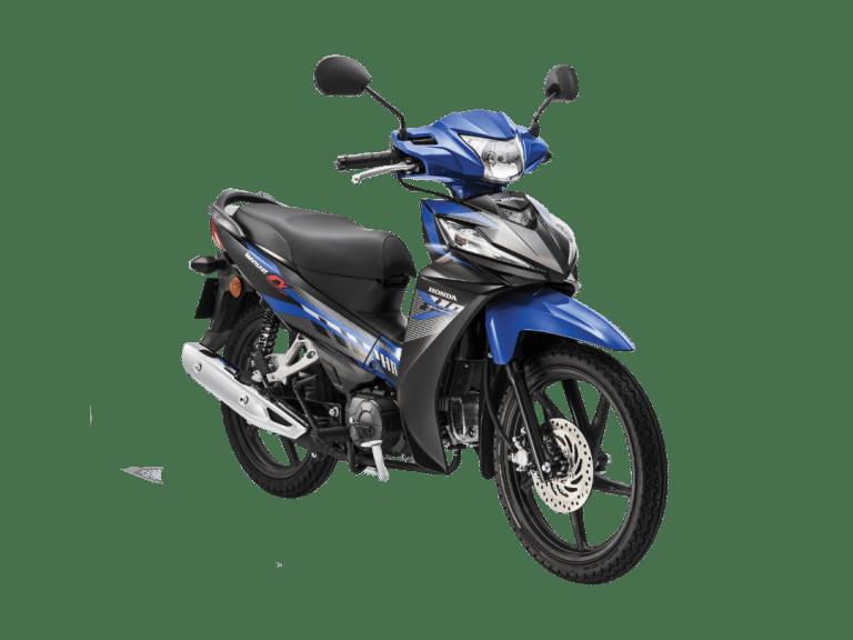 2020 Honda Wave Alpha Blue Cast