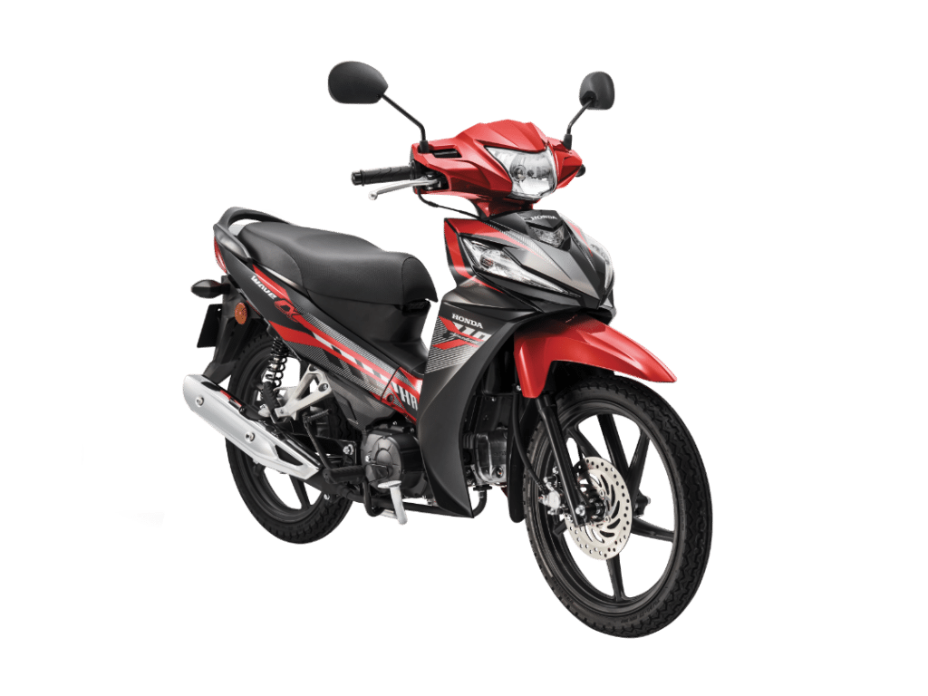 2020 Honda Wave Alpha Red Cast