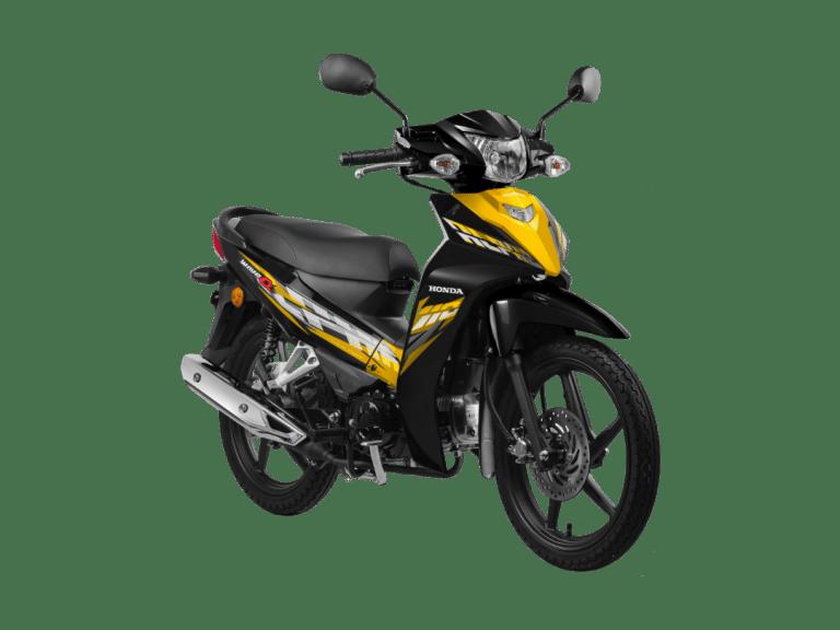 2020 Honda Wave Alpha Yellow Cast
