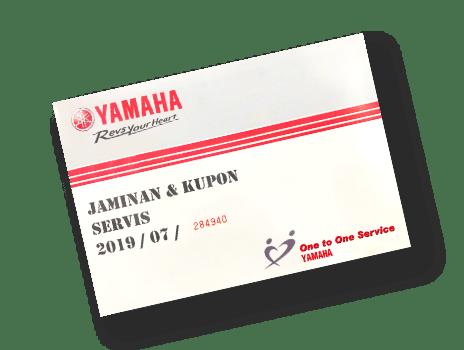 Jaminan kupon servis yamaha