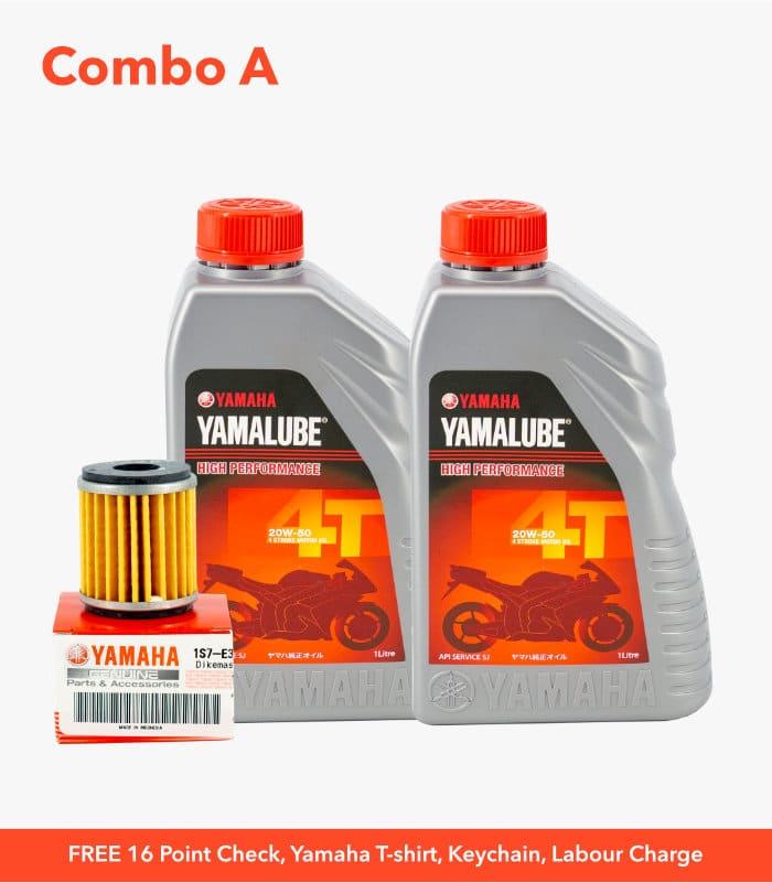 Yamaha Service Campaign Combo A