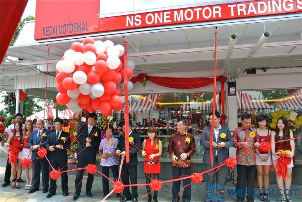 ns one motor honda select shop launching