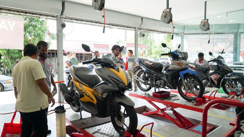 yamaha service center klang yqs