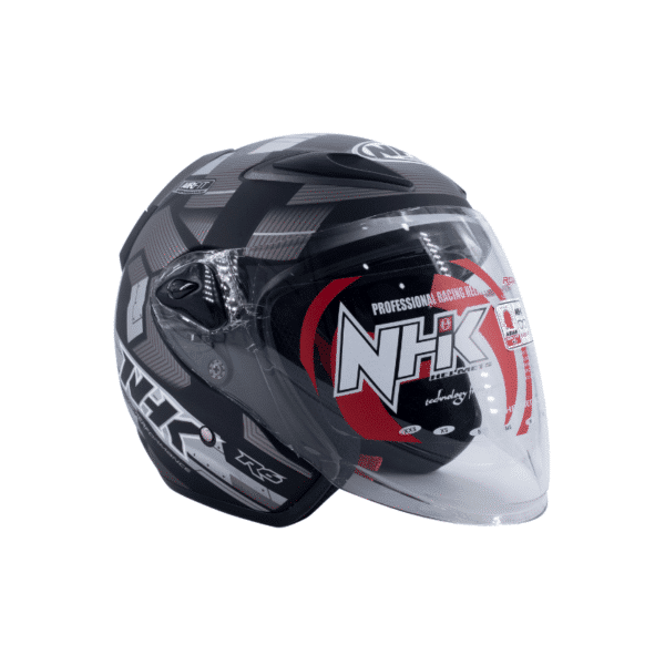 Helmet NHK R6 Cube Black 1