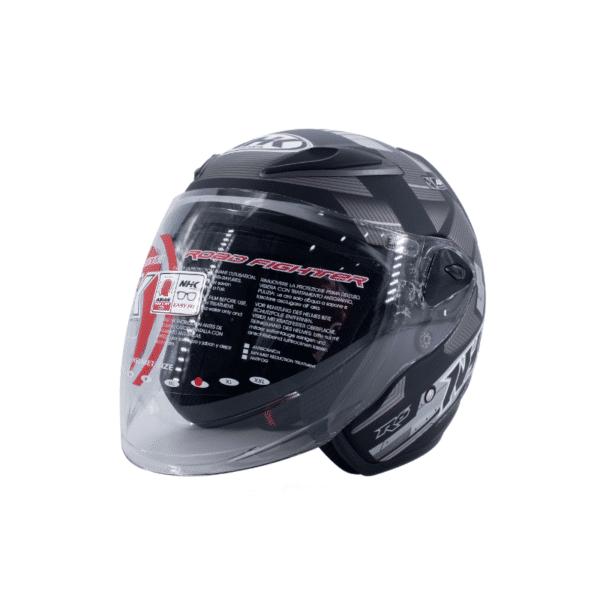 Helmet NHK R6 Cube Black 2