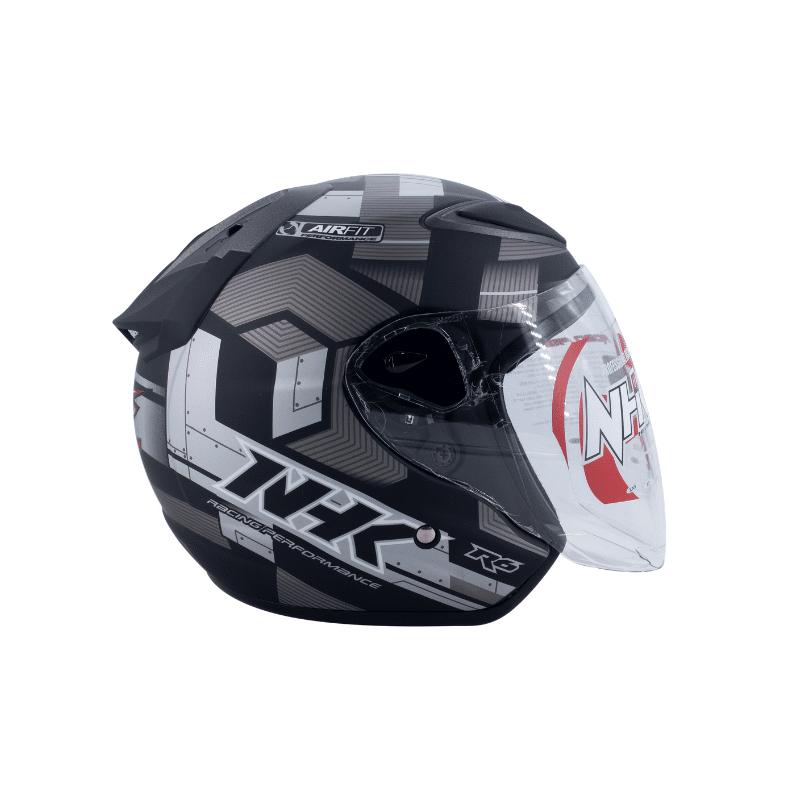 Helmet NHK R6 Cube Black 3