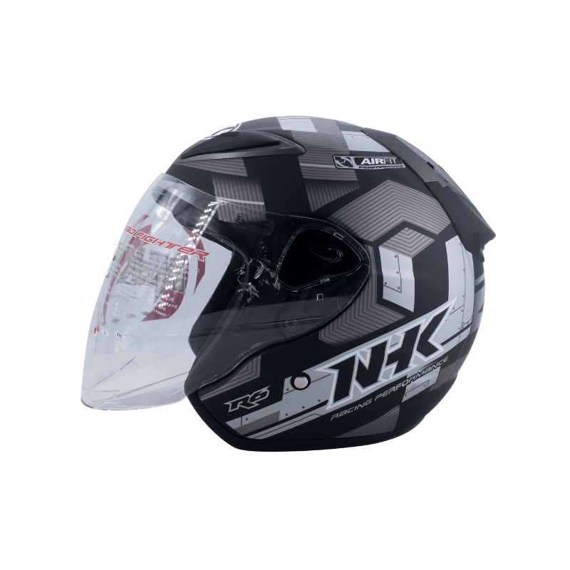 Helmet NHK R6 Cube Black 4