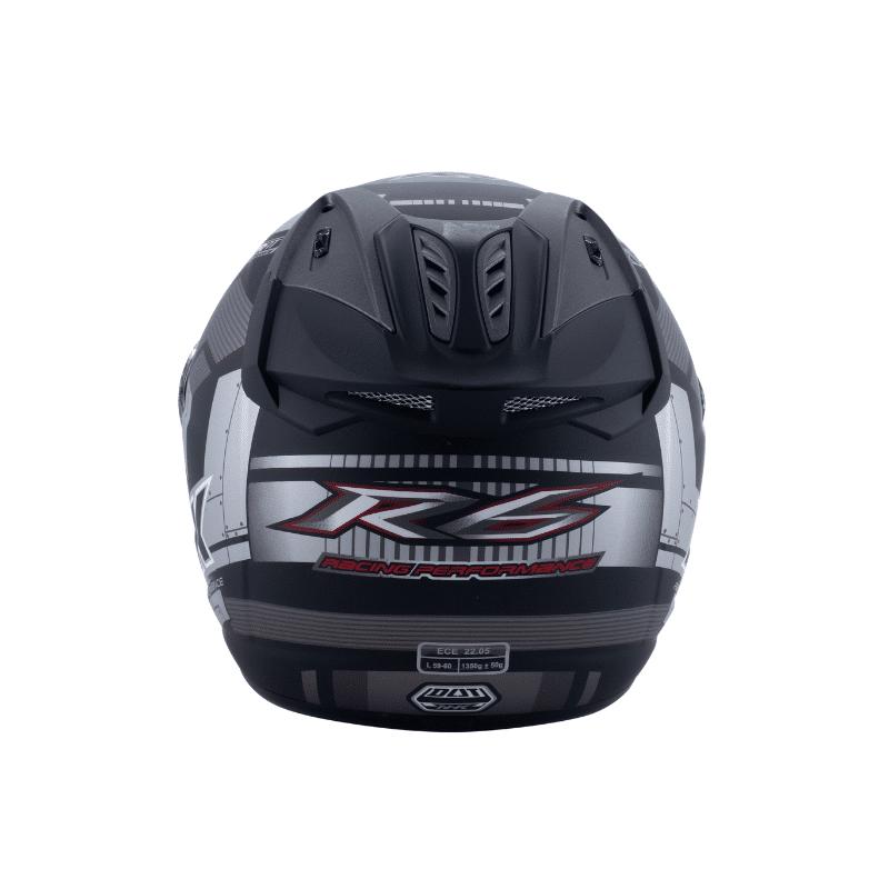 Helmet NHK R6 Cube Black 6