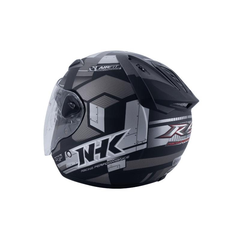 Helmet NHK R6 Cube Black 8