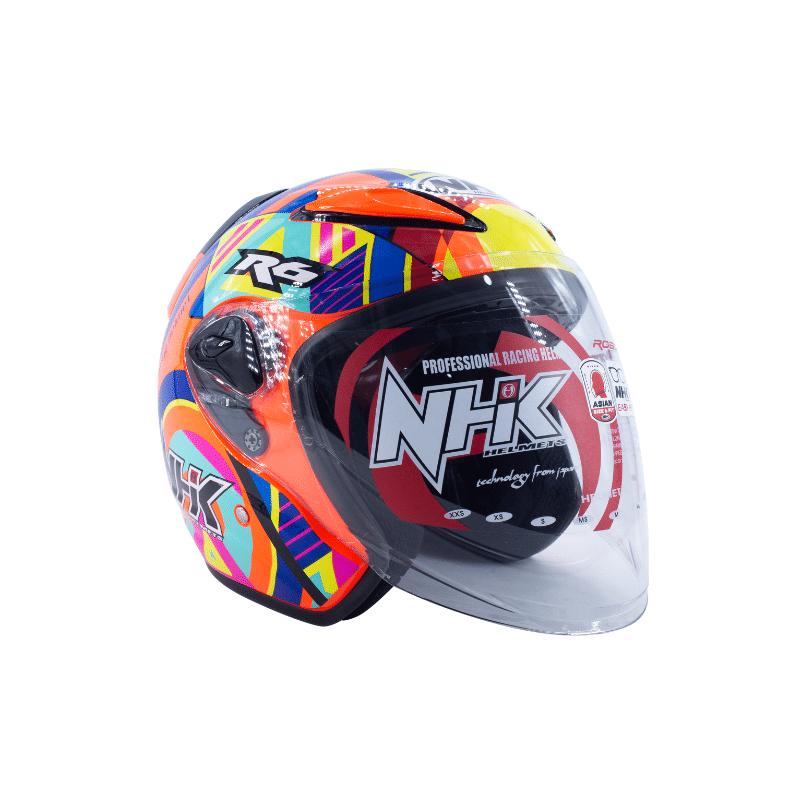 Helmet NHK R6 Pigment Orange Fluo 1