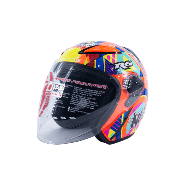 Helmet NHK R6 Pigment Orange Fluo 2