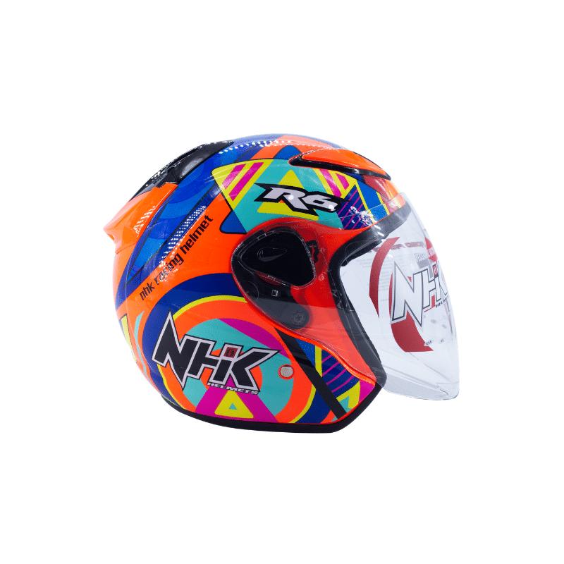 Helmet NHK R6 Pigment Orange Fluo 3