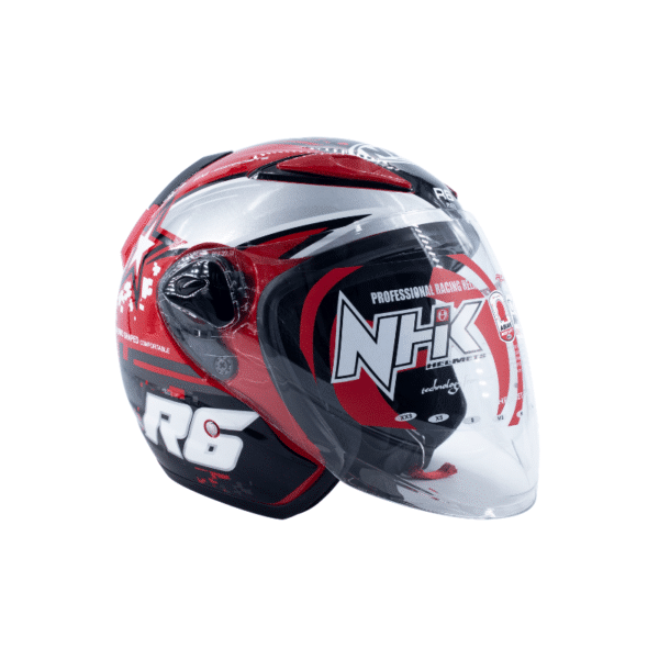 Helmet NHK R6 Pixel Red 1