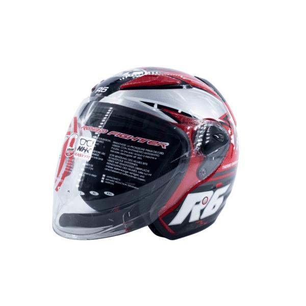 Helmet NHK R6 Pixel Red 2