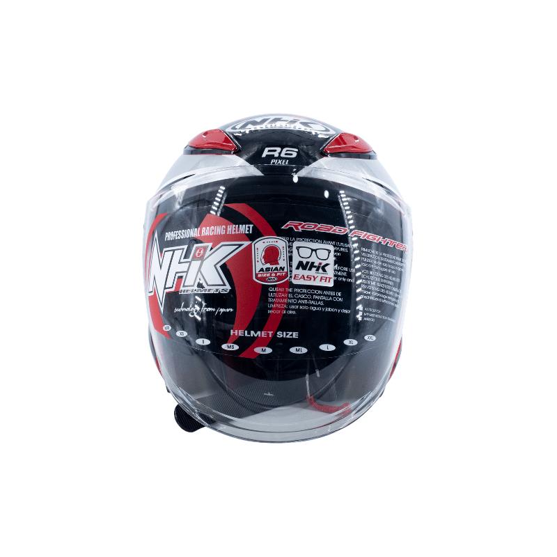 Helmet NHK R6 Pixel Red 5