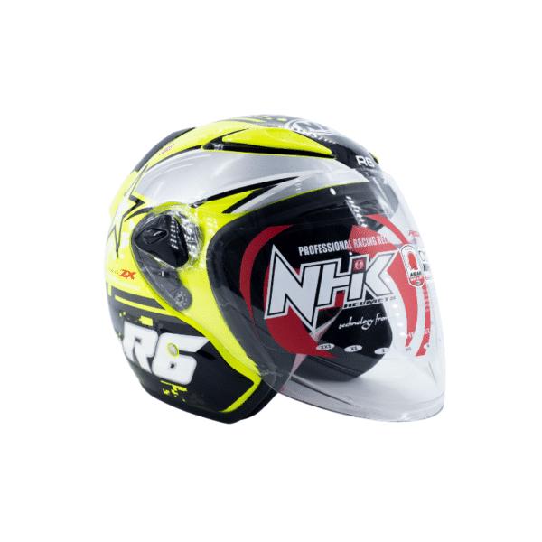 Helmet NHK R6 Pixel Yellow 1