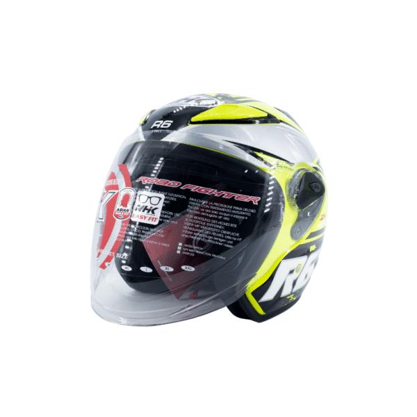 Helmet NHK R6 Pixel Yellow 2