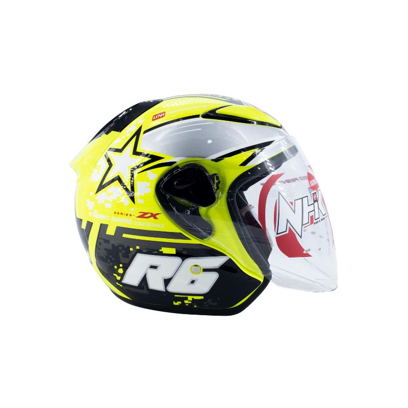 Helmet NHK R6 Pixel Yellow 3