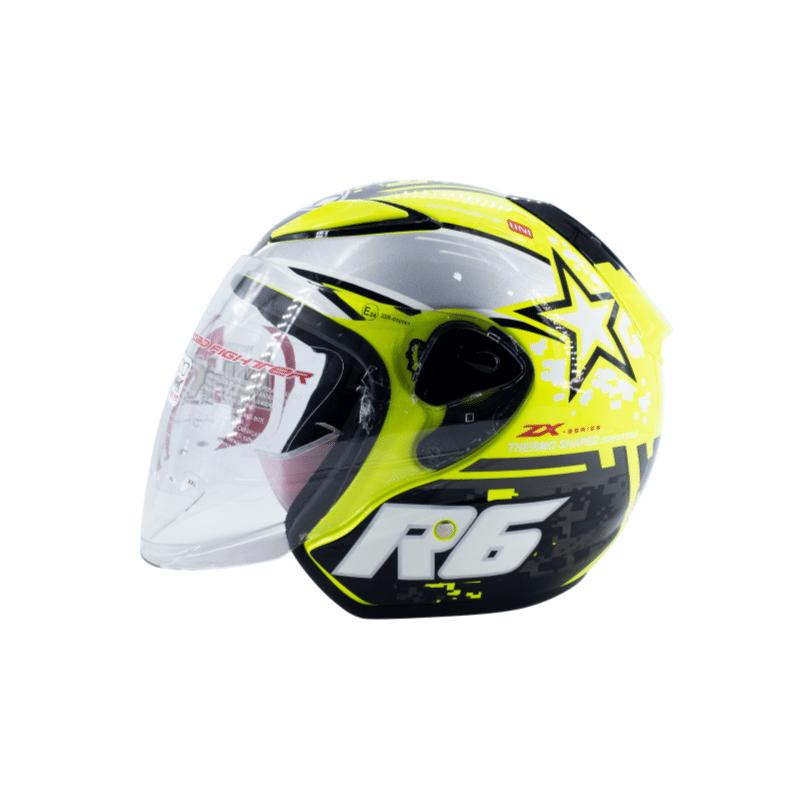 Helmet NHK R6 Pixel Yellow 4
