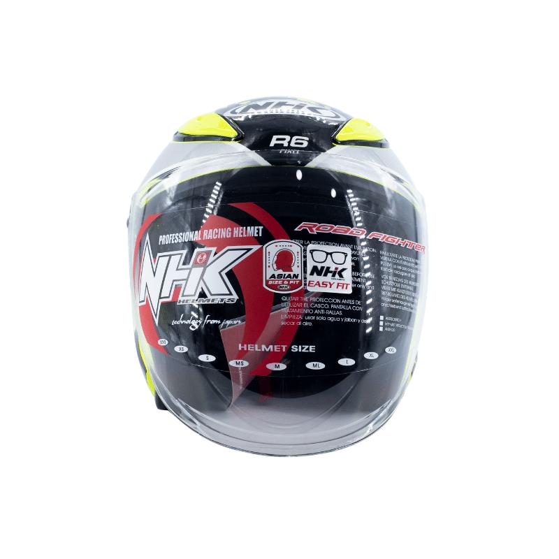 Helmet NHK R6 Pixel Yellow 5