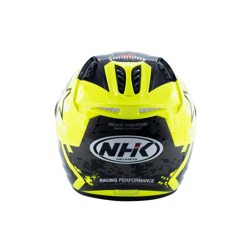 Helmet NHK R6 Pixel Yellow 6