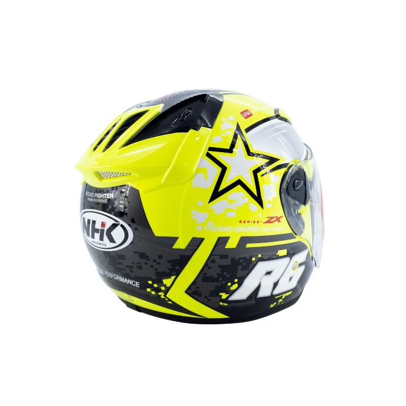Helmet NHK R6 Pixel Yellow 7