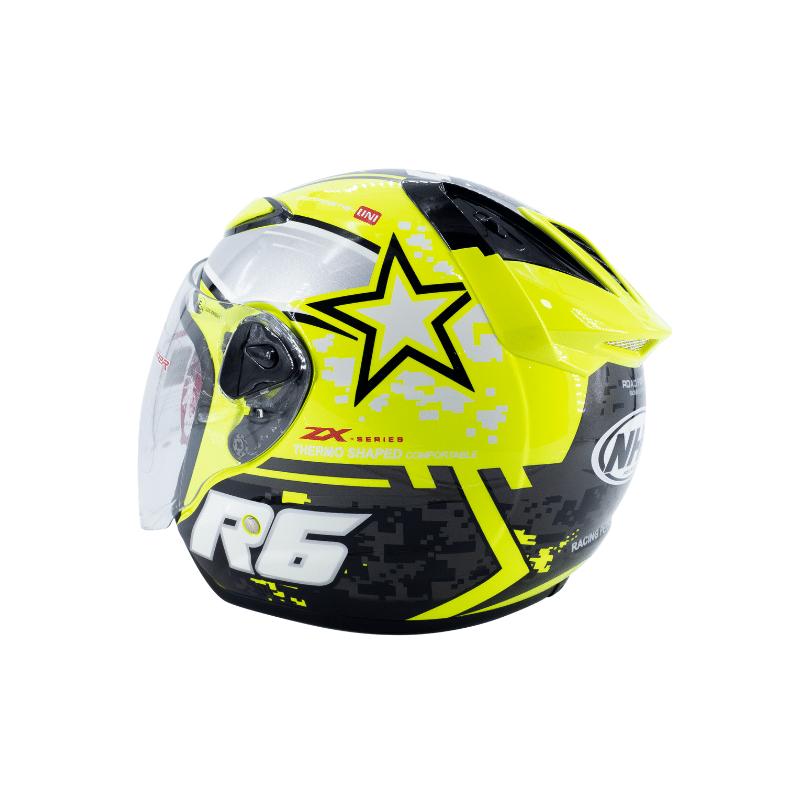 Helmet NHK R6 Pixel Yellow 8
