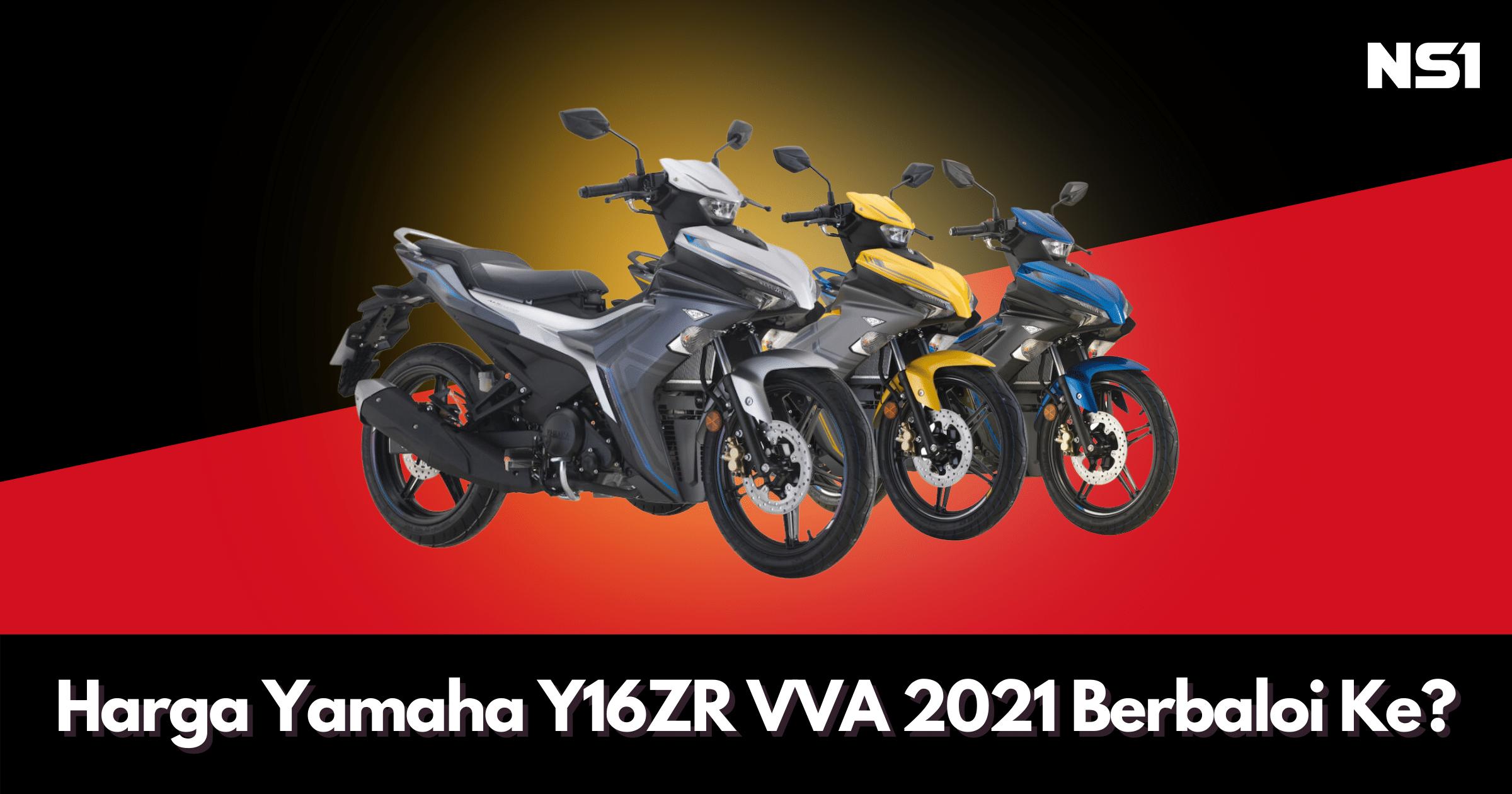 Harga Yamaha Y16ZR VVA mula RM10,888