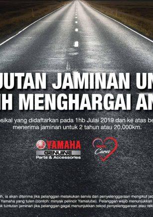 cara claim warranti yamaha